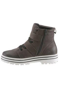 jana hoge veterschoenen »sitane« grijs