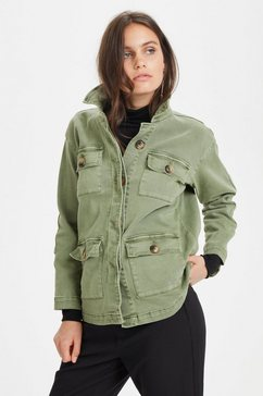 denim hunter kort jack »20 the army« groen