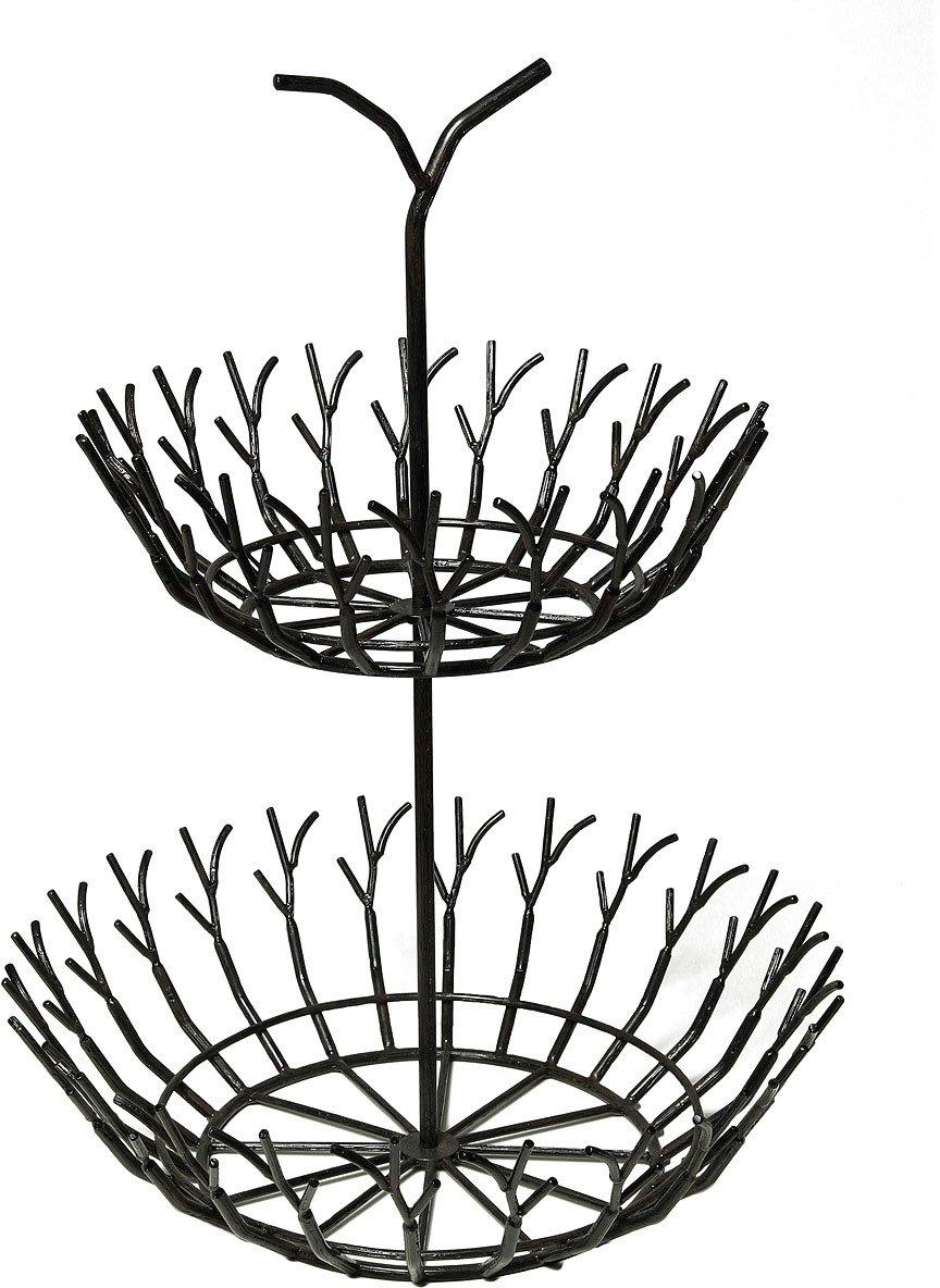 Ambiente Haus decoratieve schaal Fuligo tak dubbele schaal (1 stuk) online kopen op otto.nl