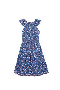 fat face maxi-jurk »maedchen ruby mit bienenmuster« blauw