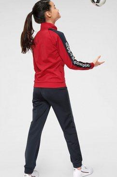 adidas performance trainingspak »youth girl tracksuit« rood