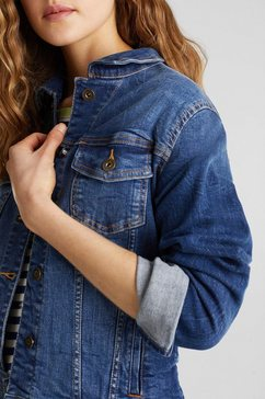 edc by esprit jeansjack blauw