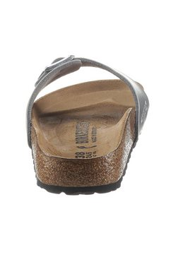 birkenstock slippers »madrid« zilver