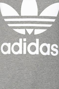 adidas originals sweatshirt »trefoil crew« grijs