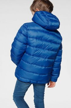 champion winterjack »hooded jacket« blauw