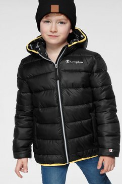 champion winterjack »hooded jacket« zwart