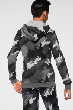 adidas performance hoodie »young boys must have batch of sport hoodie« grijs