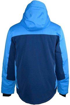 whistler regenjack »lynt« blauw