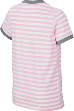 nike t-shirt »girls tee« roze