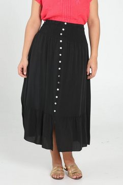 paprika rok in a-lijn zwart
