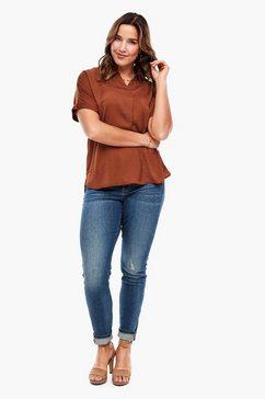 triangle blouse oranje