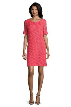 betty barclay kanten jurk »mit rundhalsausschnitt« roze