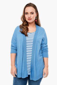triangle vest blauw