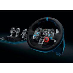 logitech games »g29 driving force + ps4 nfs heat« stuur zwart