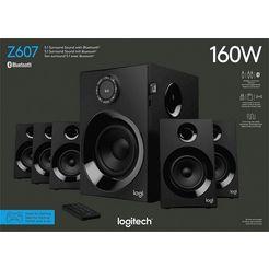 logitech »z607« surround-luidspreker schwarz