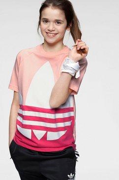 adidas originals t-shirt »big trefoil tee« multicolor