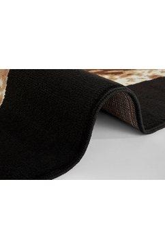 delavita vloerkleed »warren« zwart