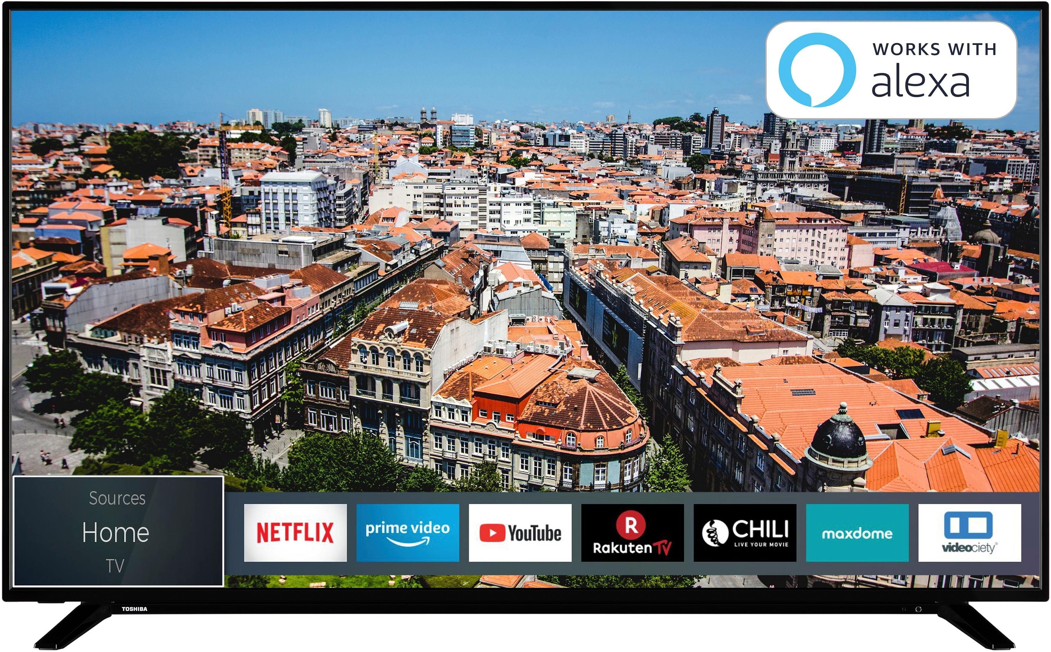Toshiba 50U2963DG LED-televisie (126 cm / (50 Inch), 4K Ultra HD, Smart-TV in de webshop van OTTO kopen