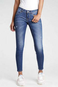 gang skinny fit jeans blauw