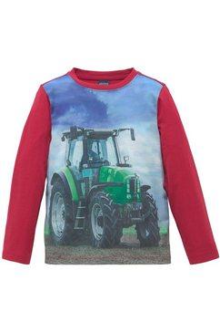 arizona shirt met lange mouwen »landschaft mittraktor« rood