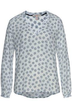 esprit gedessineerde blouse wit