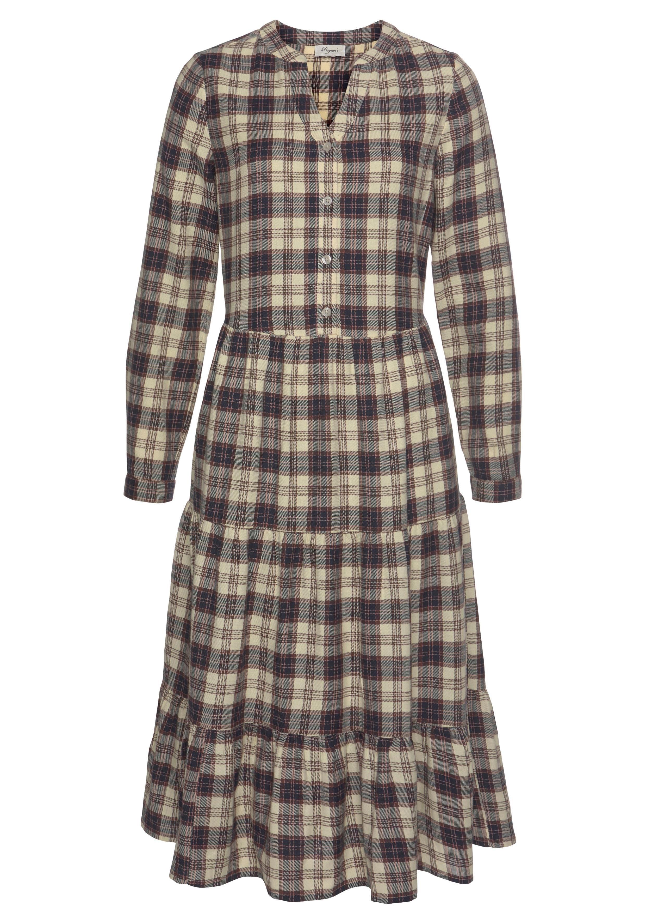 BOYSEN'S geruite jurk online kopen op otto.nl