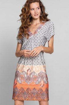 bianca gedessineerde jurk »marill« rood