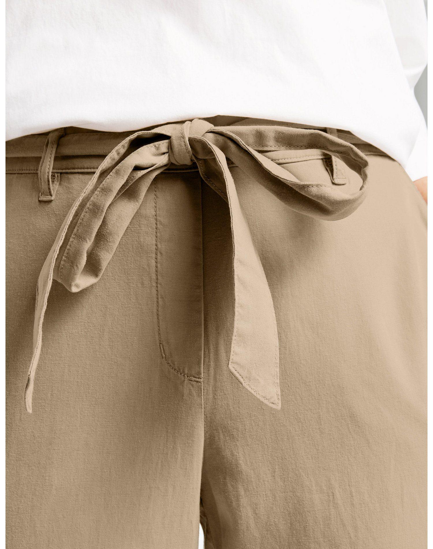 Samoon Korte Vrijetijdsbroek Paperbag-hose Mia Online Bestellen - Geweldige Prijs