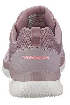 skechers sneakers »bountiful - quick path« paars