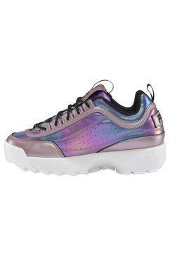 fila sneakers »disruptor low« paars