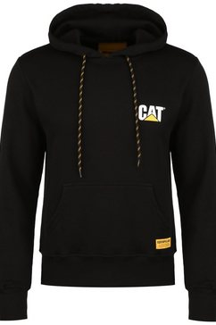 caterpillar capuchontrui »cat small logo« zwart