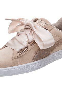 puma sneakers »suede heart lunalux« roze