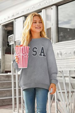 arizona sweatshirt extra wijde pasvorm grijs