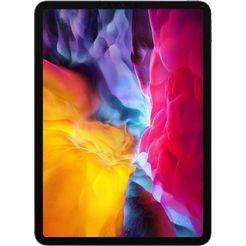 apple »ipad pro 11.0 (2020) - 256 gb cellular« tablet grijs
