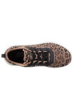 skechers sneakers »bobs squad - mighty cat« bruin