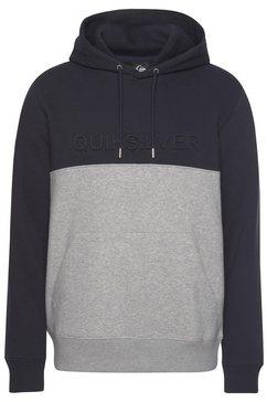 quiksilver hoodie blauw