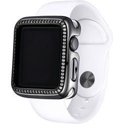sky•b smartwatch-huelle »halo, w001x38, 38 mm« grijs