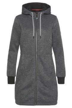 polarino tricotmantel grijs