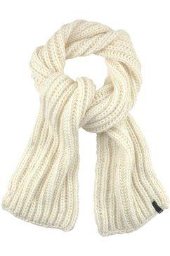 h.i.s gebreide sjaal wit