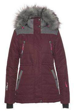 polarino ski-jack paars