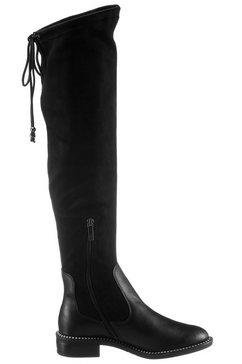 tamaris overknee-laarzen »manisa« zwart