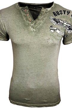 rusty neal t-shirt »a1-rn15046« bruin