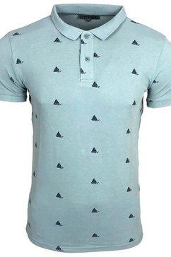 rusty neal t-shirt blauw