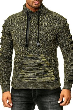 rusty neal pullover geel