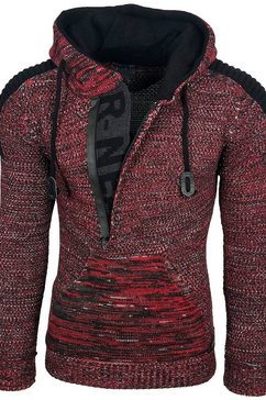 rusty neal pullover rood