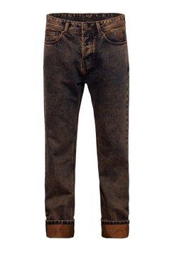 kingkerosin straight jeans »scott« bruin