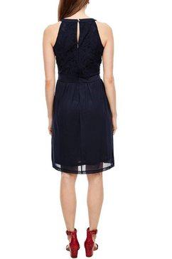 s.oliver kanten jurk blauw