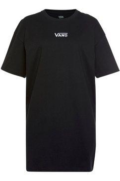 vans shirtjurk »center vee tee dress« zwart