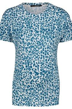 supermom t-shirt »leopard« blauw