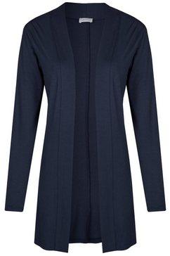 seidel moden moderne cardigan met lange mouwen blauw